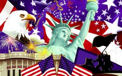 আমেরিকার স্বাধীনতা দিবস ৪ জুলাই