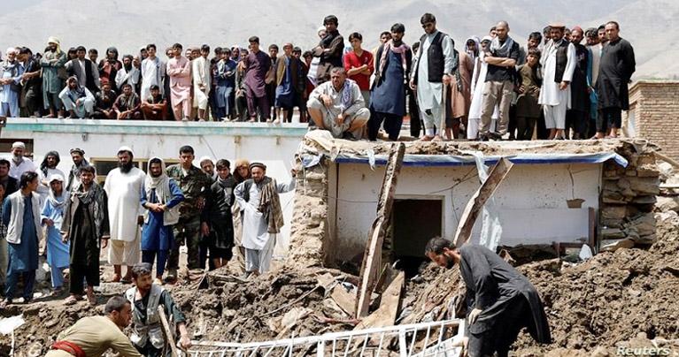 আফগানিস্তানে ভয়াবহ বন্যায় ১৬০ জনের মৃত্যু