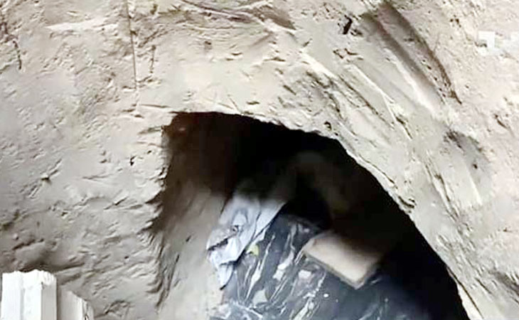 ইউক্রেনে কারাগার থেকে সন্তানকে মুক্ত করতে ৩৫ ফুট টানেল খুঁড়লেন মা