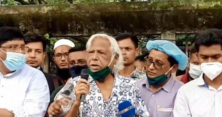 ভারতের বিরুদ্ধে সোচ্চার না হলে বাংলাদেশের মুক্তি নেই : ডা. জাফরুল্লাহ চৌধুরী