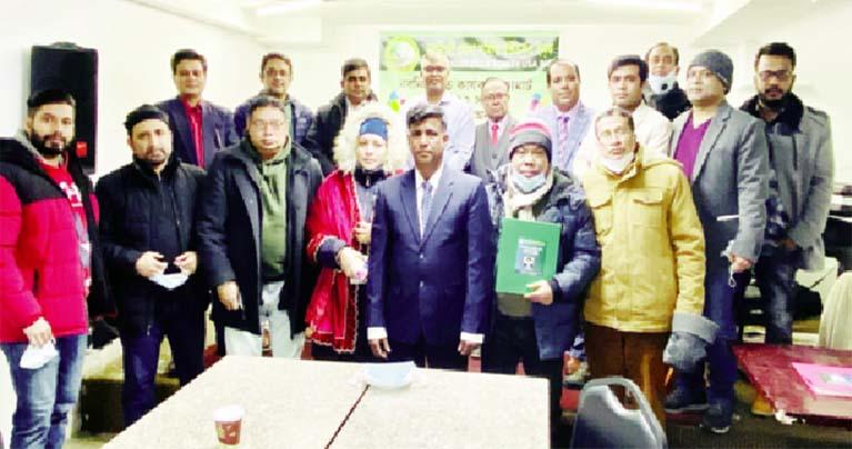 নরসিংদী জেলা সমিতির নতুন কমিটির শপথ অনুষ্ঠিত