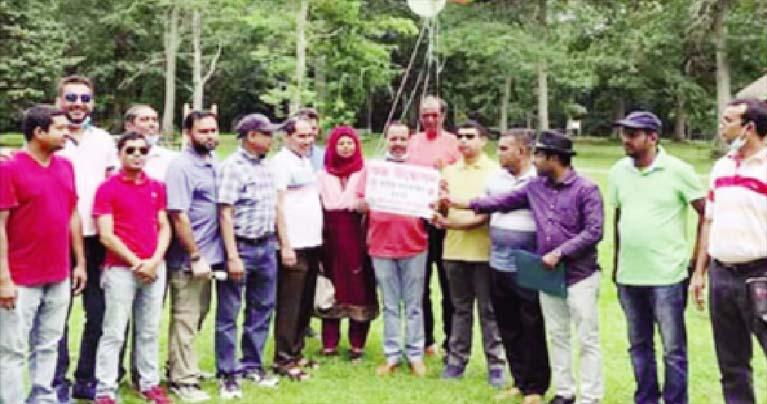 প্রবাসী শেরপুর জেলা সমিতির বার্ষিক বনভোজন