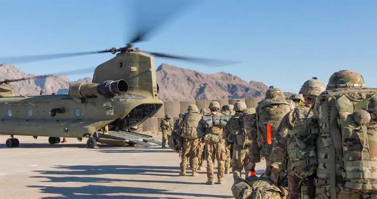 আফগানিস্তান ছাড়লো মার্কিন সেনারা