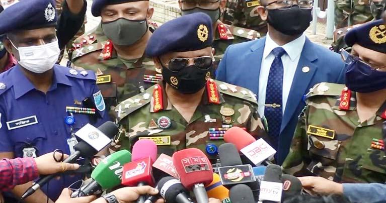 দেশের করোনা পরিস্থিতি অনেকটাই নিয়ন্ত্রণে : সেনাপ্রধান