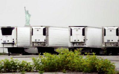 করোনাভাইরাস : নিউইয়র্কে মৃত ৬৫০ লাশ এখনো ফ্রিজার ট্রাকে