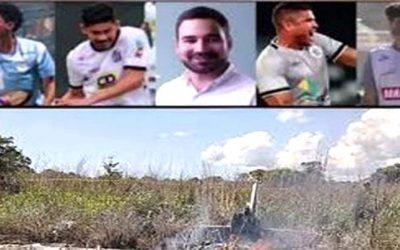ব্রাজিলে বিমান বিধ্বস্তে চার ফুটবলারসহ নিহত ছয়