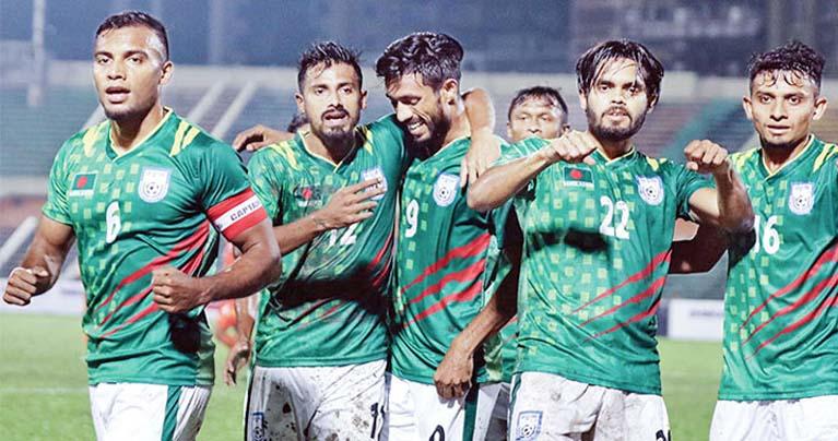ফিফা ফ্রেন্ডলি ম্যাচ : নেপালেকে ২-০ গোলে হারিয়েছে বাংলাদেশ