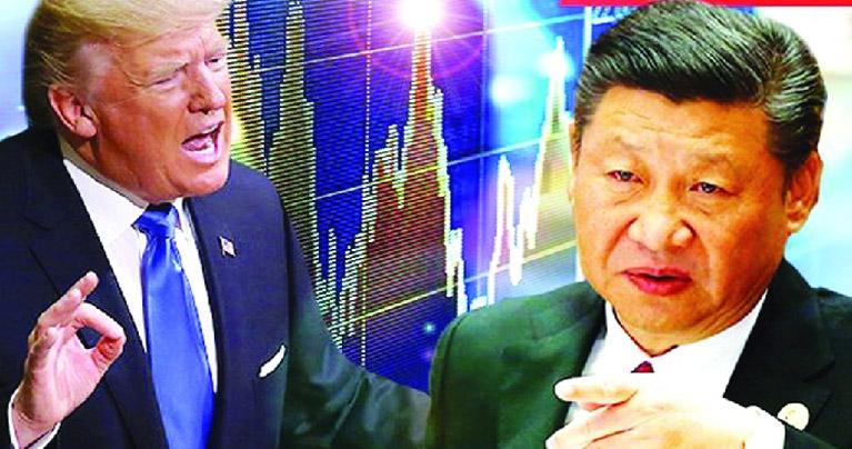 সাইবার হামলার জন্য চীনকে দায়ী করলেন ট্রাম্প