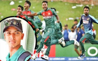 অনূর্ধ্ব-১৯ বিশ্বকাপজয়ী ক্রিকেটার সজিবের আত্মহত্যা
