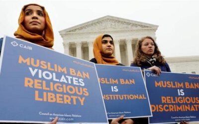 যুক্তরাষ্ট্রে মুসলিম নিষেধাজ্ঞায় ভিসা বঞ্চিতদের ফের আবেদনের অনুমতি